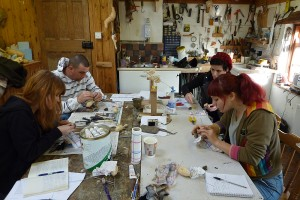 bird taxidermy training cause manikins