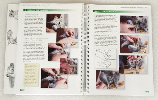 Taxidermy training book page 140