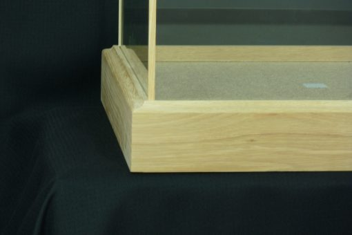 Custom Made Oak glass Cases 3