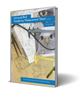 Bird Measurement sheet Help Book